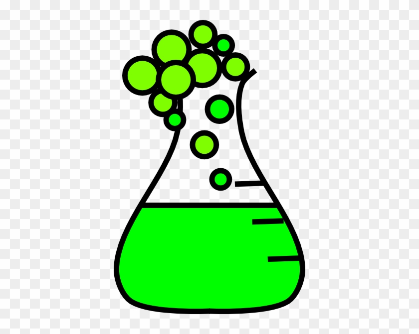 Science Beaker Clip Art #27494