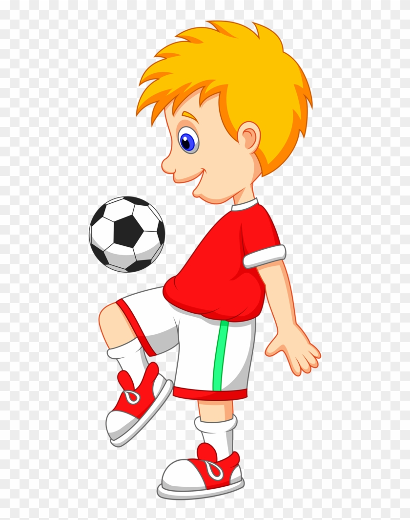 play football cartoon free transparent png clipart images download