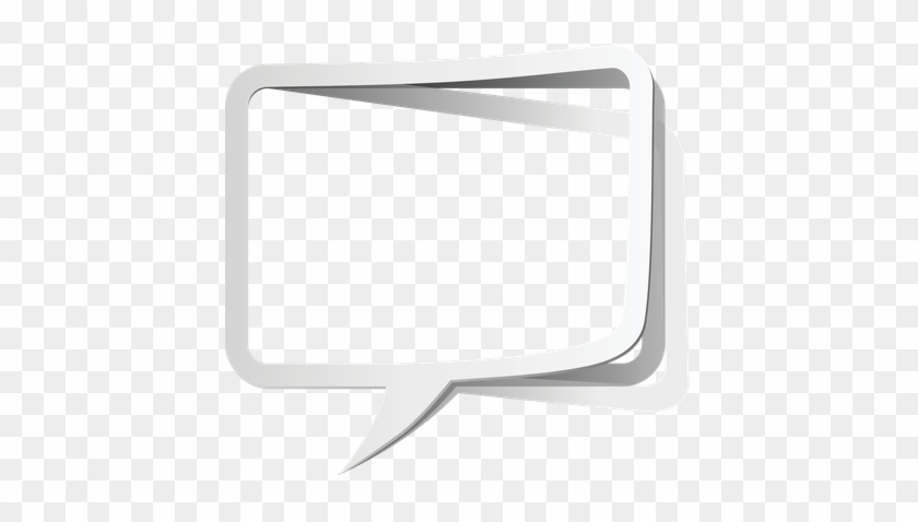 Colorful Speech Bubble Borders - Speech Balloon #27522