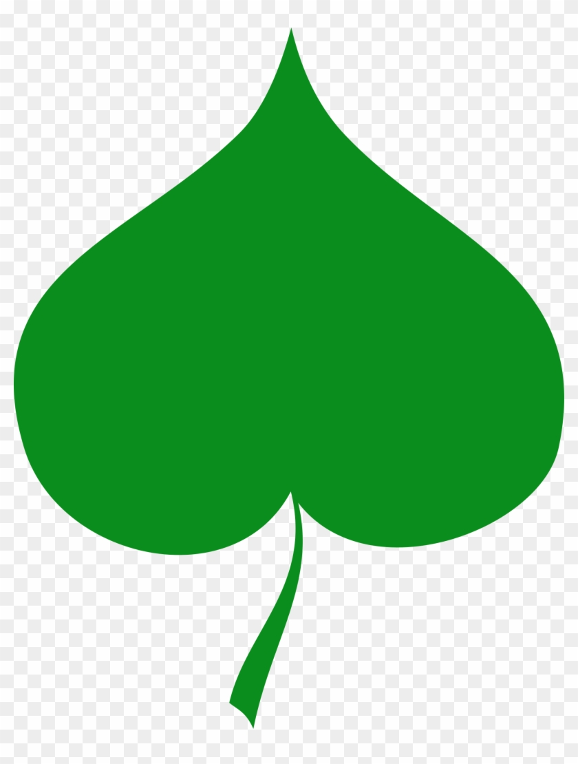 Leaves Clipart Heart - Kreslené Lipové Listy #27530