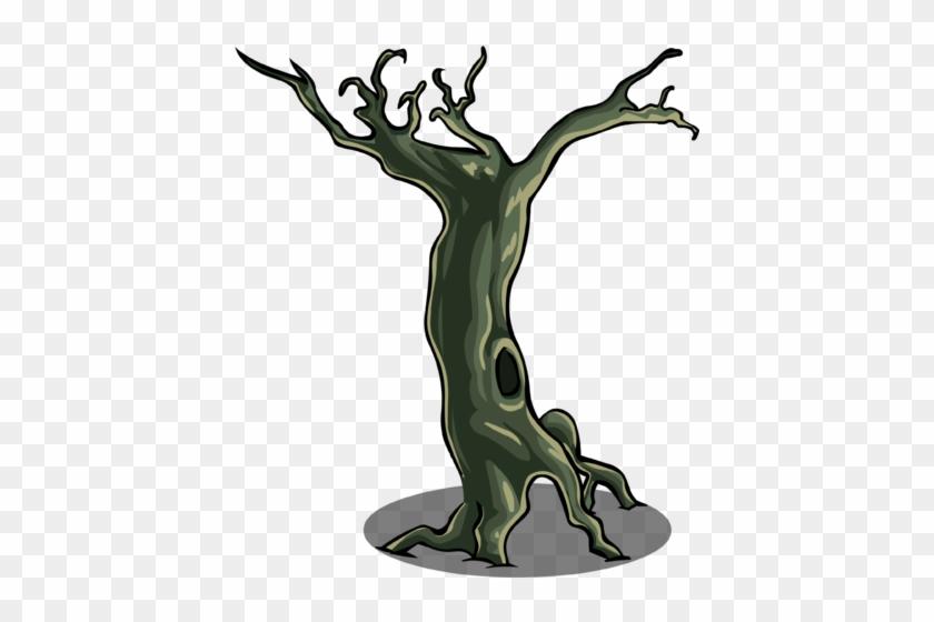Spooky Tree Sprite 003 - Club Penguin #27541