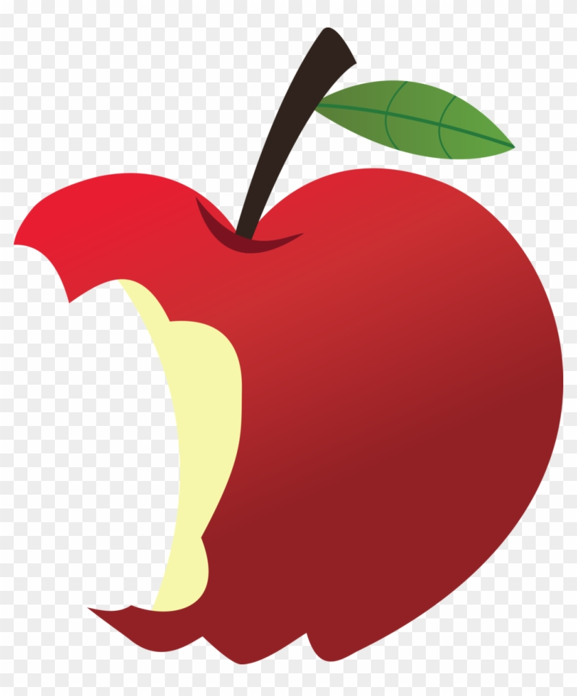 Bitten Apple Clipart - Bitten Apple Clip Art #27553