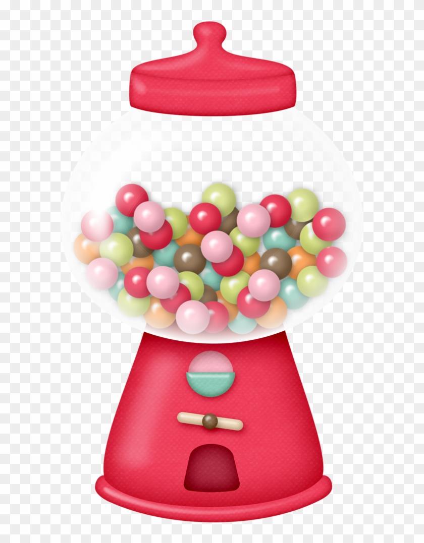Bubble Gum Machine - Gumball Machine #27588