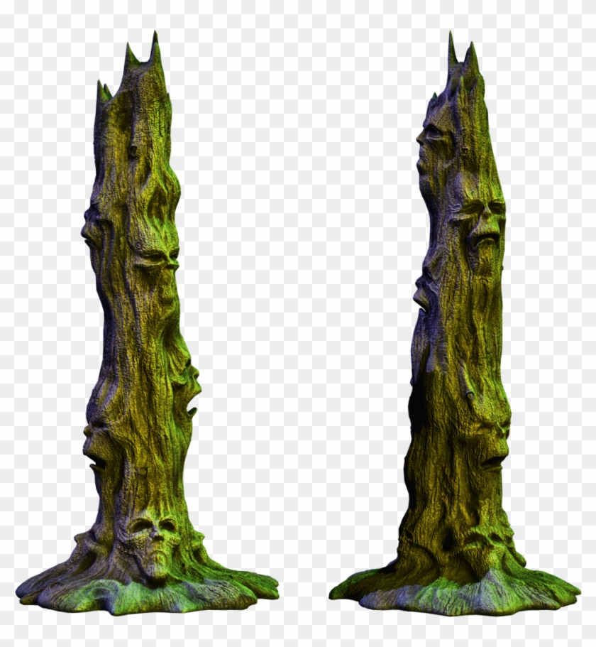 Spooky Tree 01 Png Stock By Roy3d - Deviantart Fantasy Png #27613