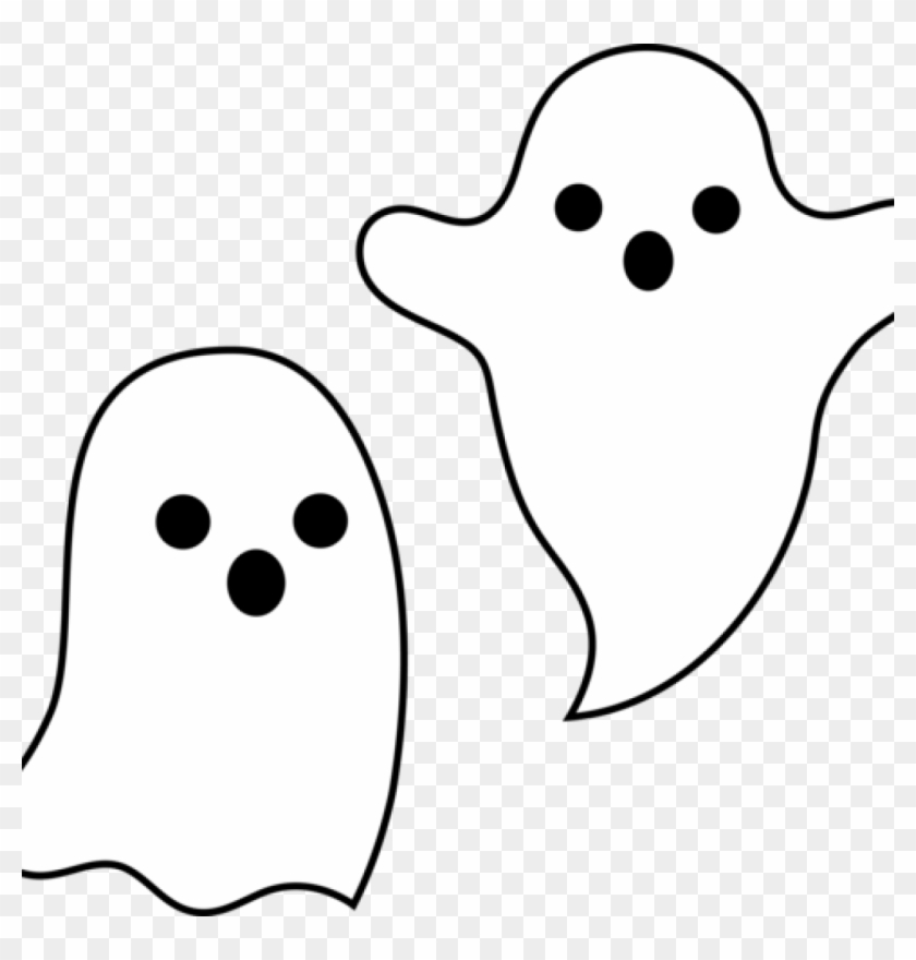 Halloween Ghost Clipart Simple Spooky Halloween Ghosts - Ghost #27662