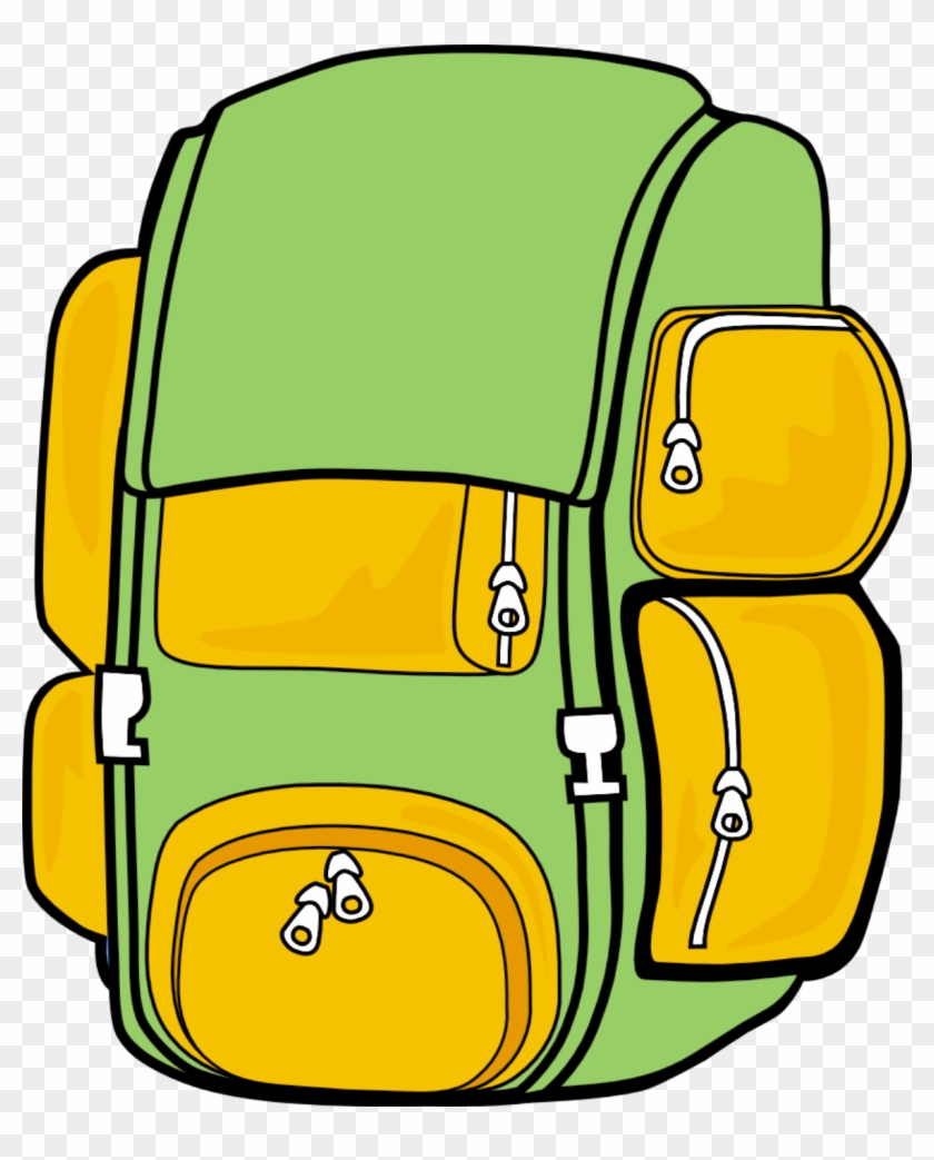 Hiking Backpack Clipart Free Images Clipartbold - Clip Art Backpack Png #27694