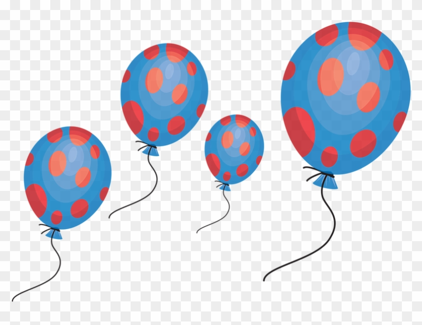 Balloon Celebration Clipart Party Holiday Birthday - Celebrationclipart #27725
