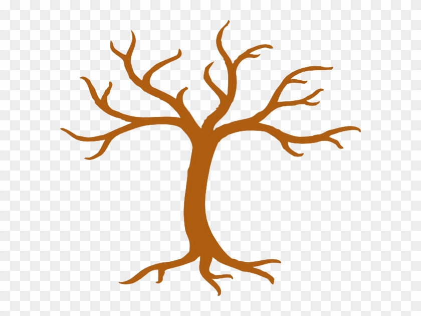 Tree Tall No Leaves Clip Art - Cartoon Tree With Branches #27757
