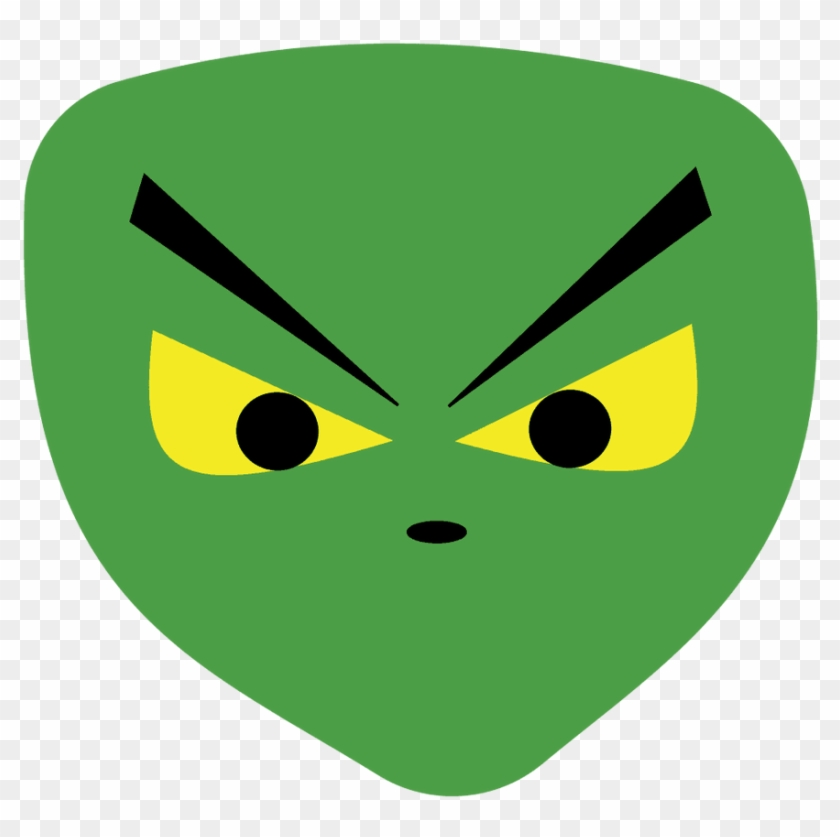 Scared Face Scary Face Clipart Png - Jocersen Mens Scary Face Alien Green Halloween Fashion #27809