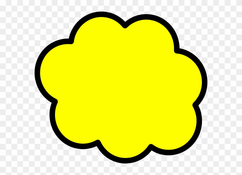 Bubble Clipart Exclamation - Text Box Yellow Vector #27823