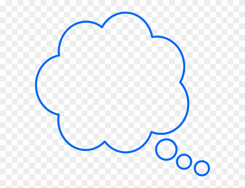 Thought Bubbles Clipart - Colorful Thinking Bubble Png #27864