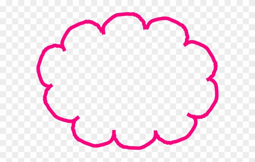 Cloud Clipart Bubble - Content Marketing #27868