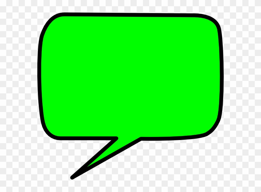 Bubble Clipart Bubble Chat - Vector Green Speech Bubble #27874