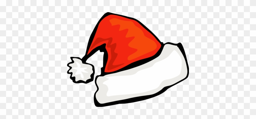 Santa Hat Clipart Christmas Boot Pencil And In Color - Santa Hats #27936