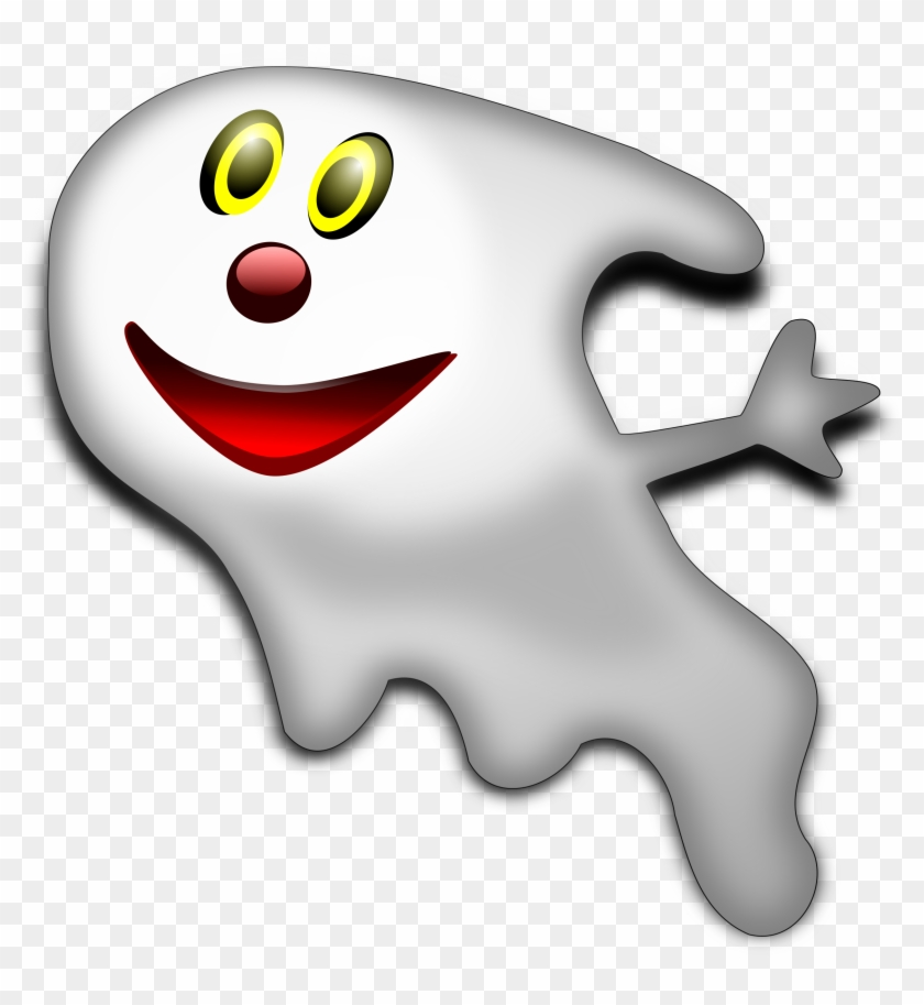Ghost Halloween Creepy Face Scary Spooky Smiley Halloween Guessing