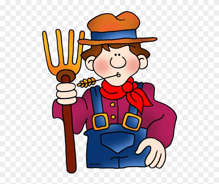 Farmer Clip Art - Clip Art Of A Farmer #28006