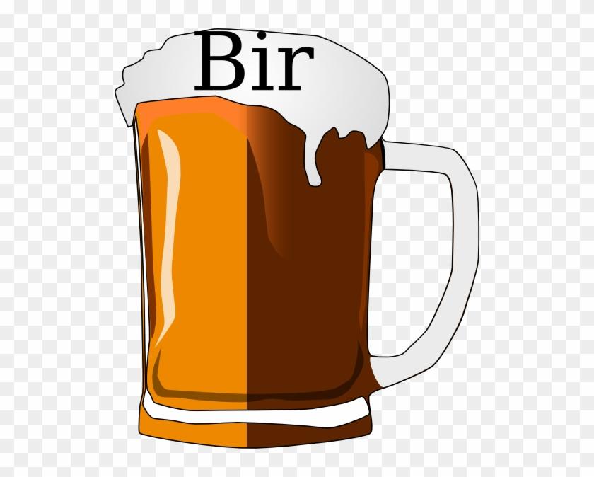 Beer Glass Clip Art - Bear Glass Vector #28016