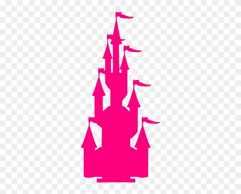 Pink Castle Clip Art At Clker - Pink Castle Clip Art #28044
