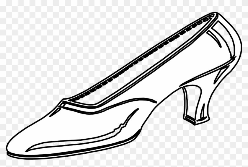 Cinderella Shoe Clip Art Clipart Clipartcow - Clip Art #28050