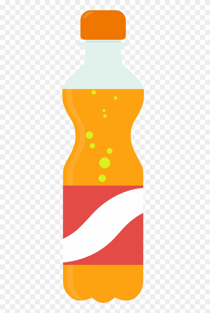 Bottle Clip Art - Soft Drink Bottle Clipart #28052