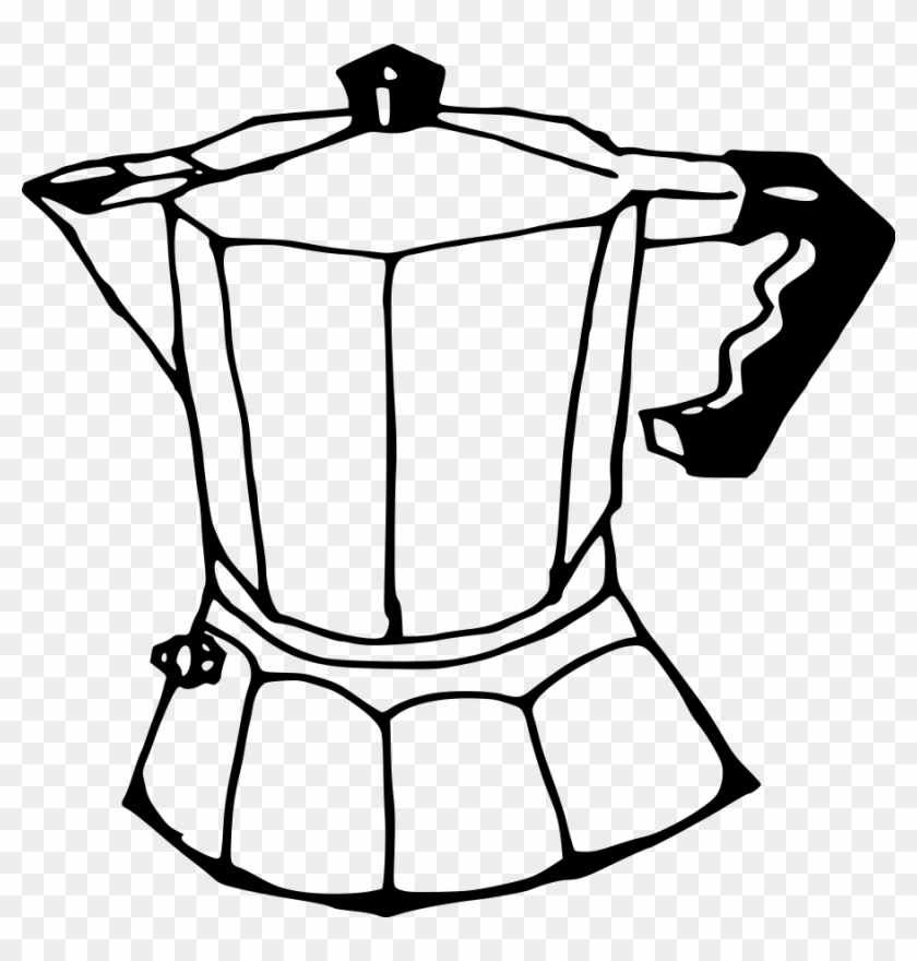 Coffee Clip Art - Coffee Maker Drawing Easy #28104