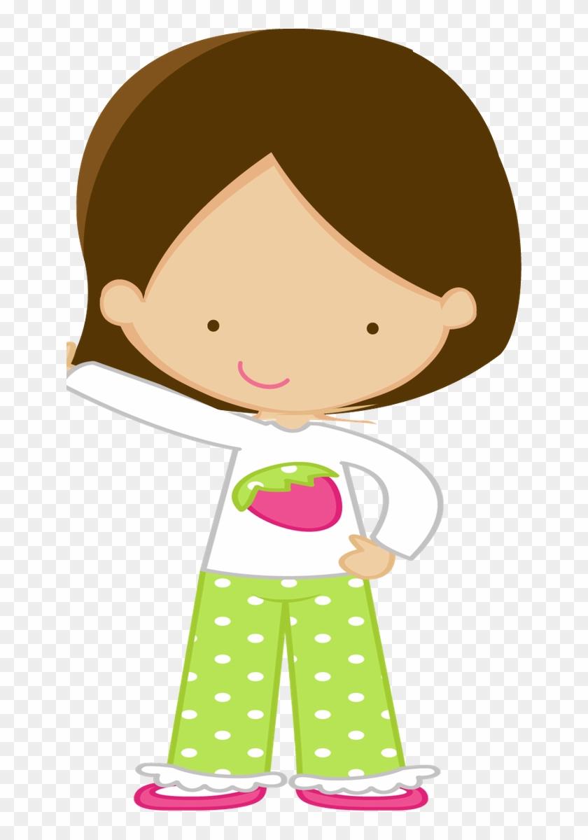 Felt- People 2 - Desenho De Boneca De Pijama #28109