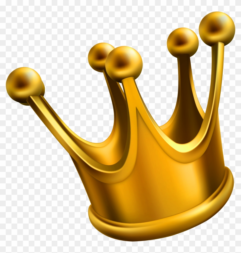 Gold Crown Clipart Clip Art Of Crown Clipart - Crown Png #28130