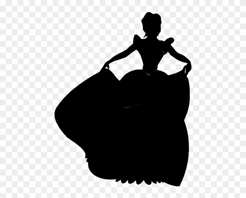 12 Cinderella Silhouette Digital Clipart Images Clipart - Cinderella Silhouette Clip Art #28170