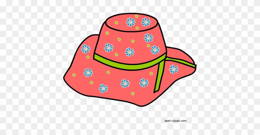 Free Summer Clip Art - Sun Hat #28218