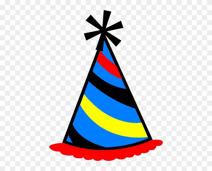 Birthday Cap Clip Art - Birthday Hat Transparent Background #28224