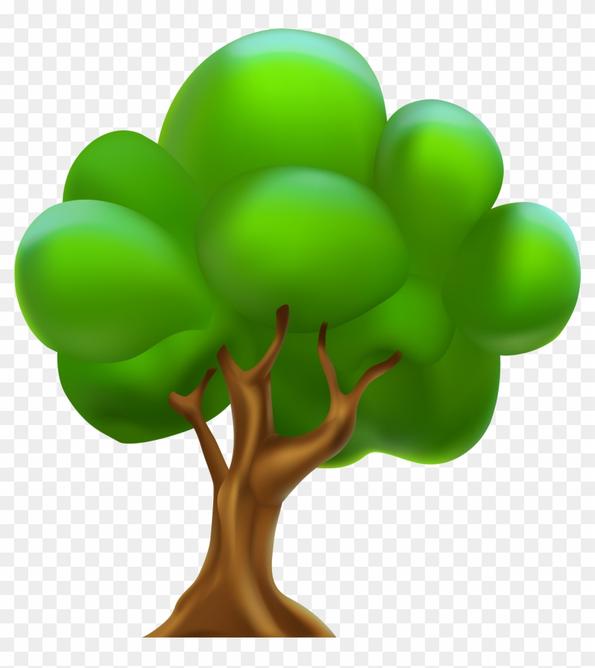 Cartoon Tree Png Clipart - Cartoon Tree Png Clipart #28245