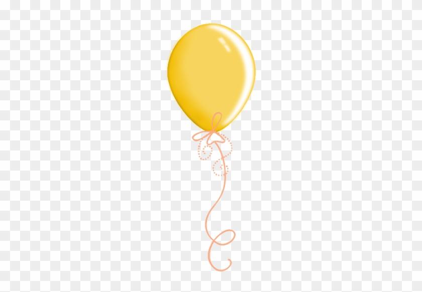 Yellow Balloon - Scraps Ballon #28253