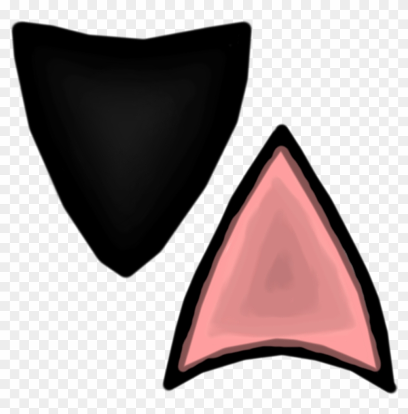 Clipart Cat Ears Free Download Best On 5a9f32e0b33ca - Cat Ear Clip Art #28277