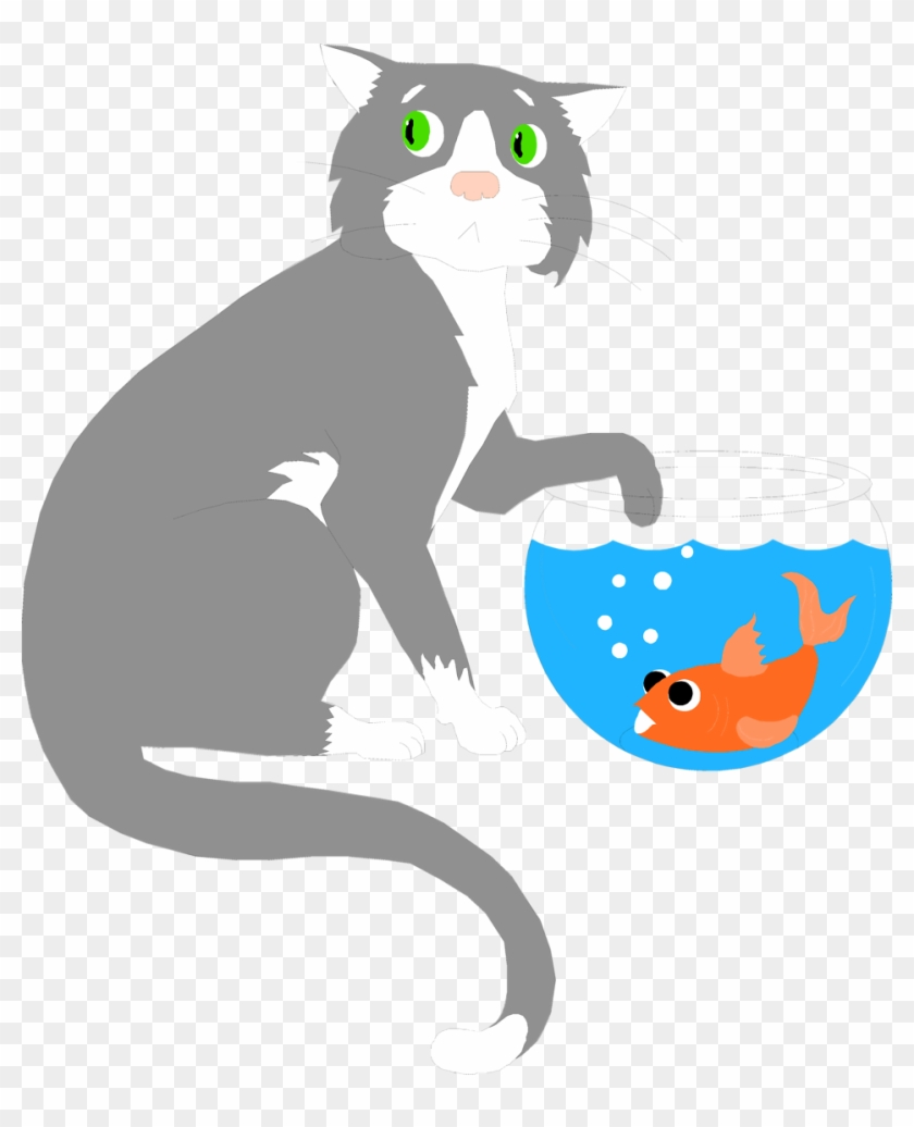 Wet Cat Clipart Free Download Best On Clipartmag Com - 3drose Llc 8 X 8 X 0.25 Inches Mouse Pad, Cat With #28300