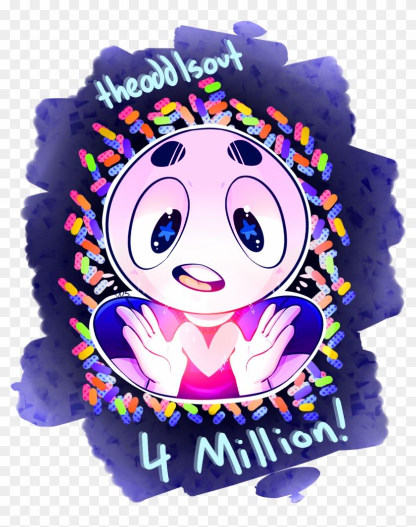 4 Million Celebration - Theodd1sout #28312