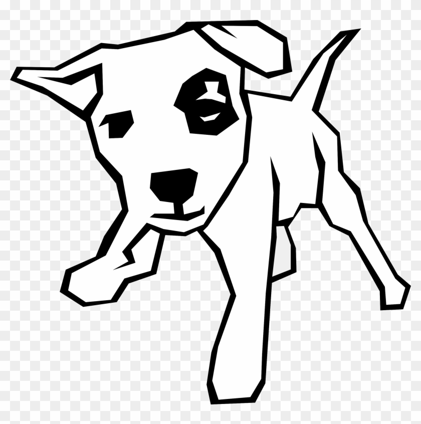 Free Clipart Animal Line Drawings Download Clip Art - Dog Clip Art #28323
