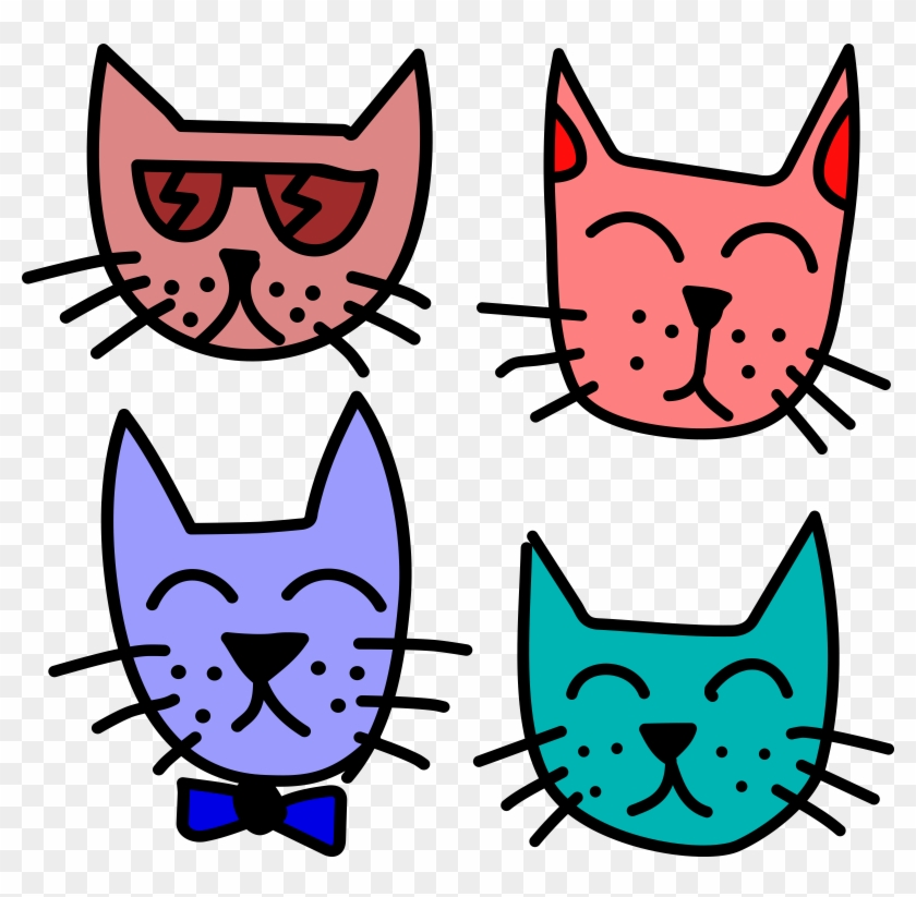 Free Graffiti Cats By Rones - Cool Cats Clip Art #28332