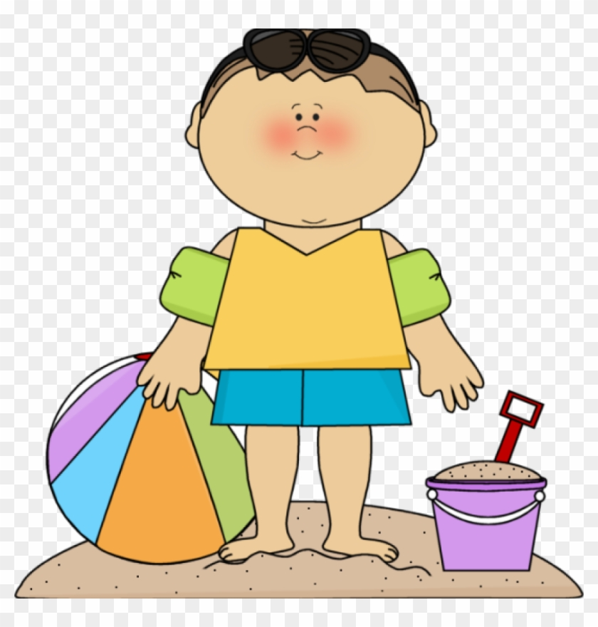 Clip Art Summer Summer Kids Clip Art Summer Kids Images - Social Story Vacation #28387