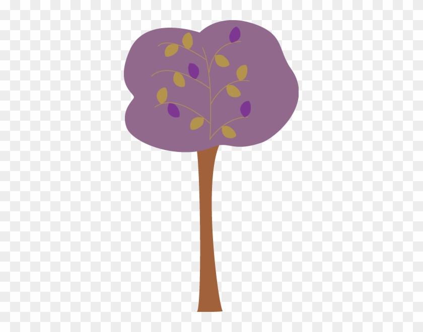 Purple Autumn Tree - Lilac Tree Clip Arts #28403