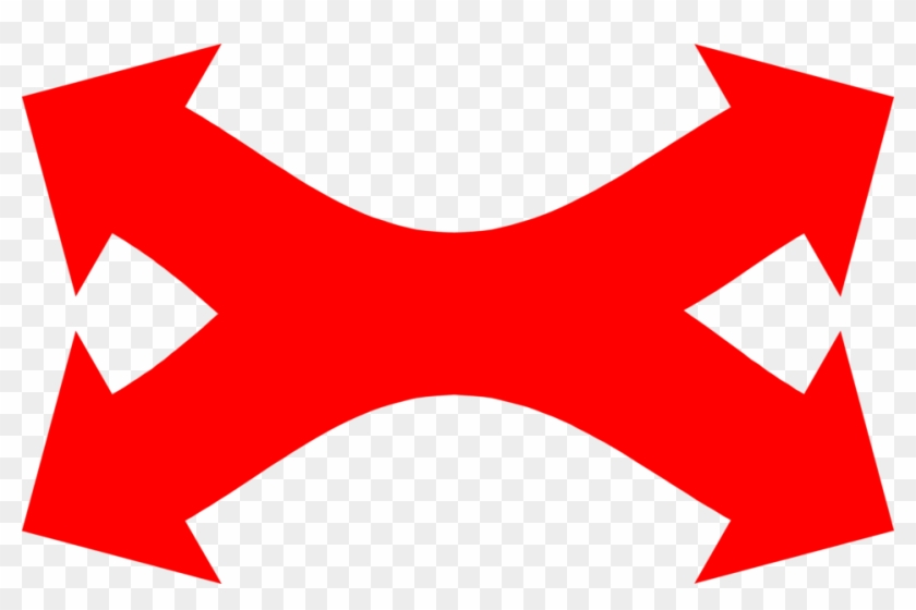 Directional Arrow Free Download Clip Art On Multi - 4 Directional Arrows Png #28438