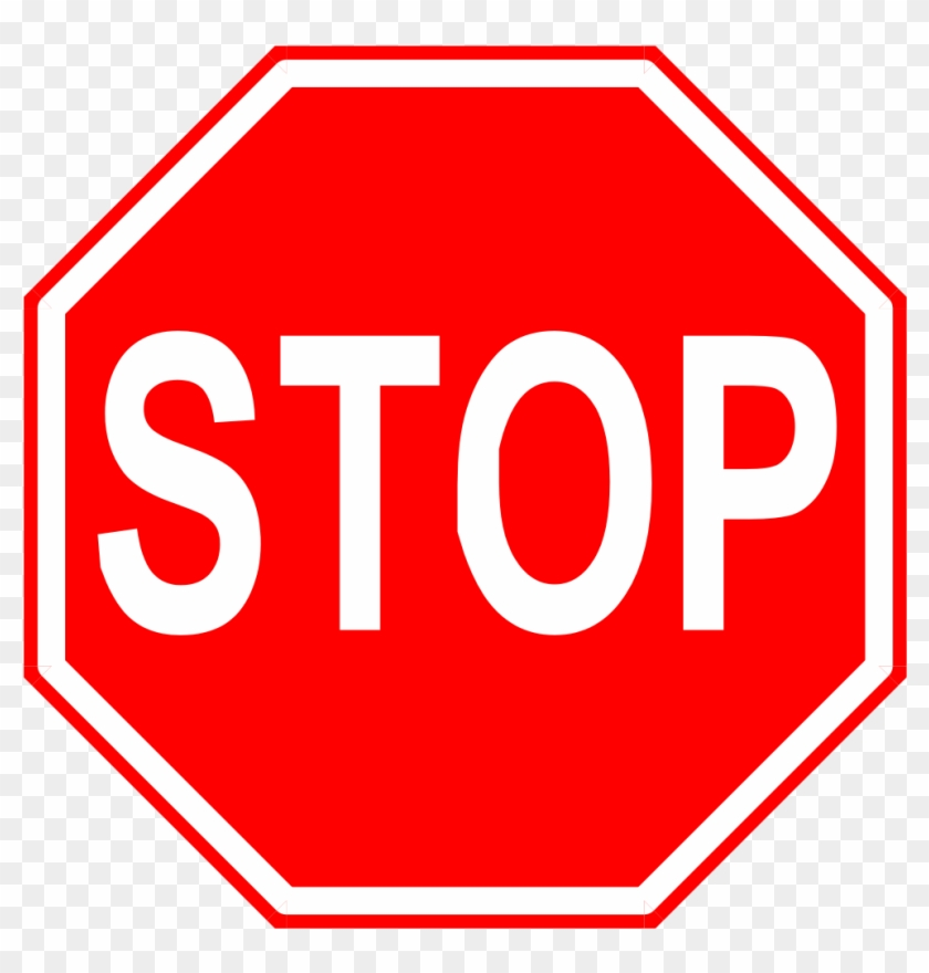 Stop Sign Clip Art Microsoft Free Clipart Images - Stop Sign Transparent Background #28472
