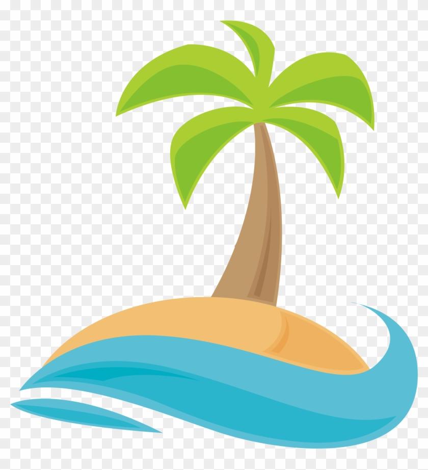 Coconut Palm Tree - Palm Tree Cartoon Png #28499
