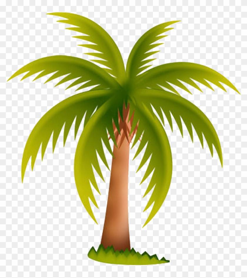 Arecaceae Date Palm Tree Clip Art - Palm Tree Clip Art #28500