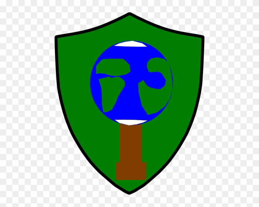 Save Trees,save Earth Shield Clip Art At Clker - Emblem #28518