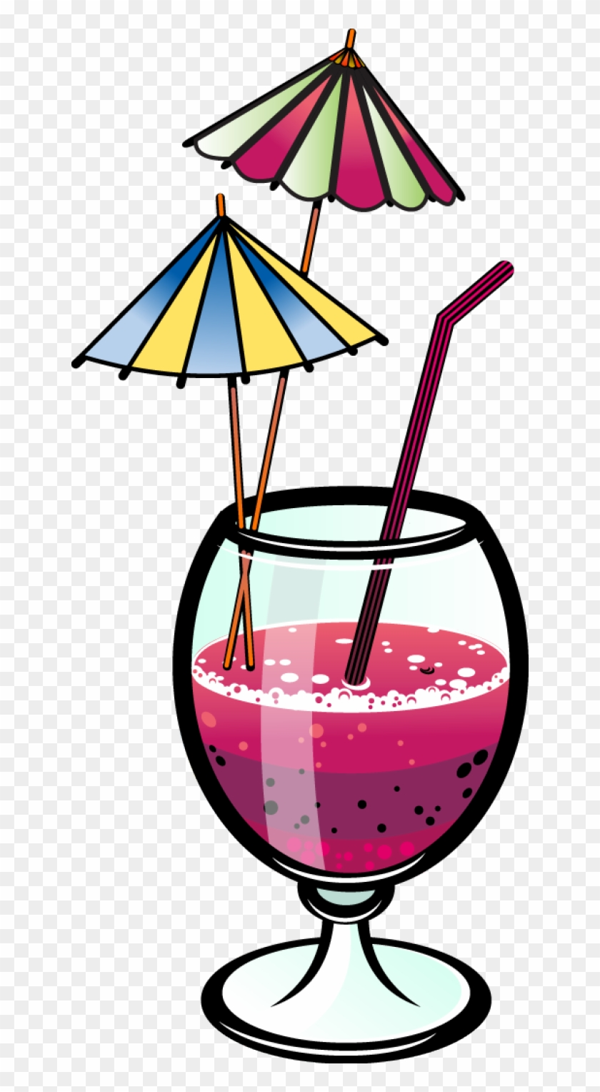 Drink Clipart Food And Beverage - Party Drinks Clip Art #28540