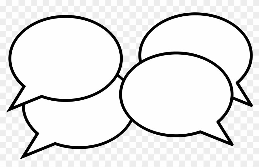Clipart Conversation Think - Conversation Clip Art Png #28552