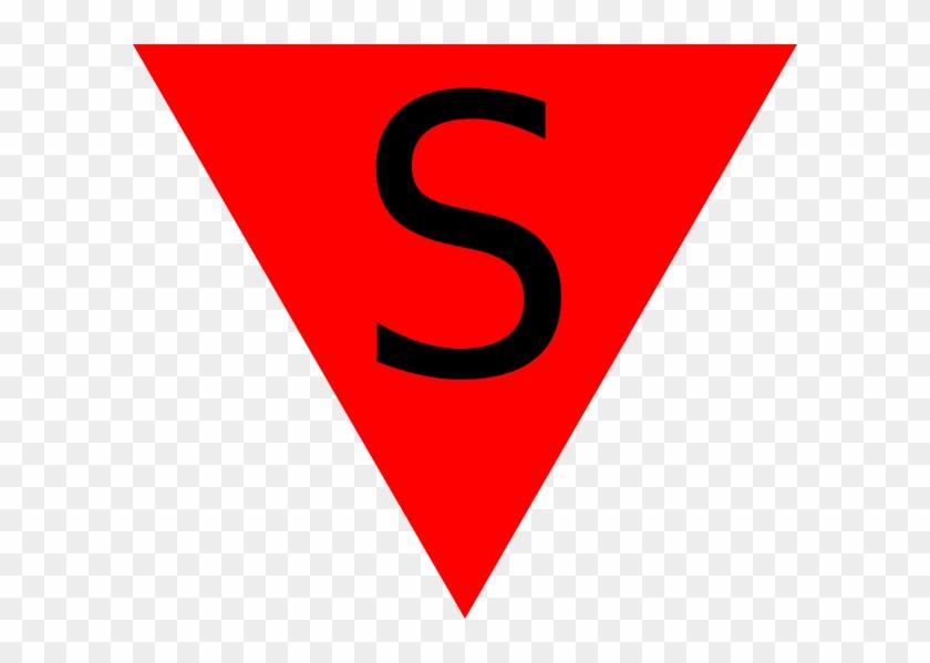 สามเหลี่ยม สี แดง Png #28556