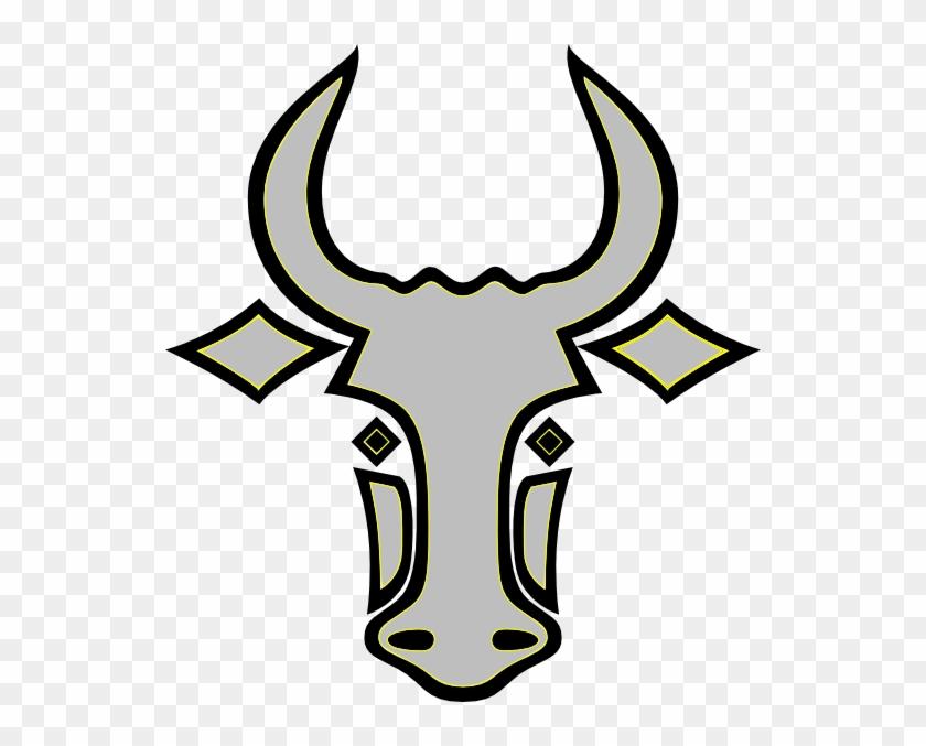My Bull Clip Art - Bull Head Outline #28573