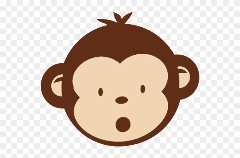 Monkey Black And White Baby Monkey Clip Art Black And - Mod Monkey Clip Art #28580