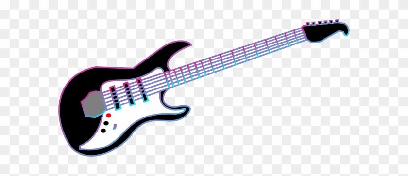 Guitar Clip Art At Clker Com Vector Online Royalty - Rock Guitar Clip Art #28600